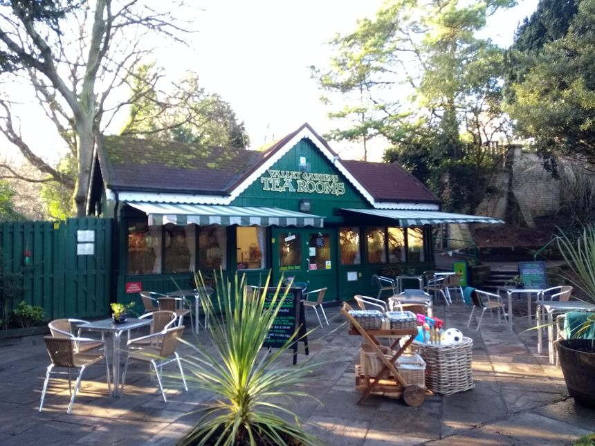 Valley Garden Tea rooms at Saltburn